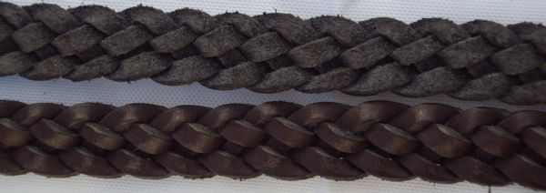 Wyvern Plaited Leather Reins
